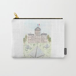 Musee du Louvre Carry-All Pouch