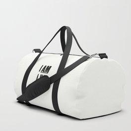 I AM A MAN Duffle Bag