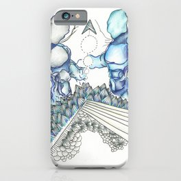Blue Force iPhone Case