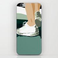 feet iPhone & iPod Skins featuring Feet by Berta Merlotte