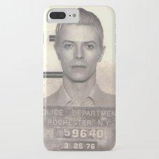 Bowie Mugshot VI iPhone 7 Plus Slim Case