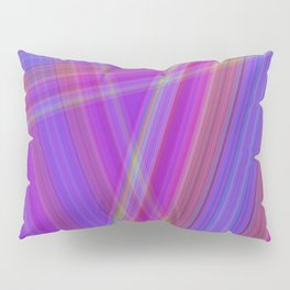 Multicolored lines Pillow Sham