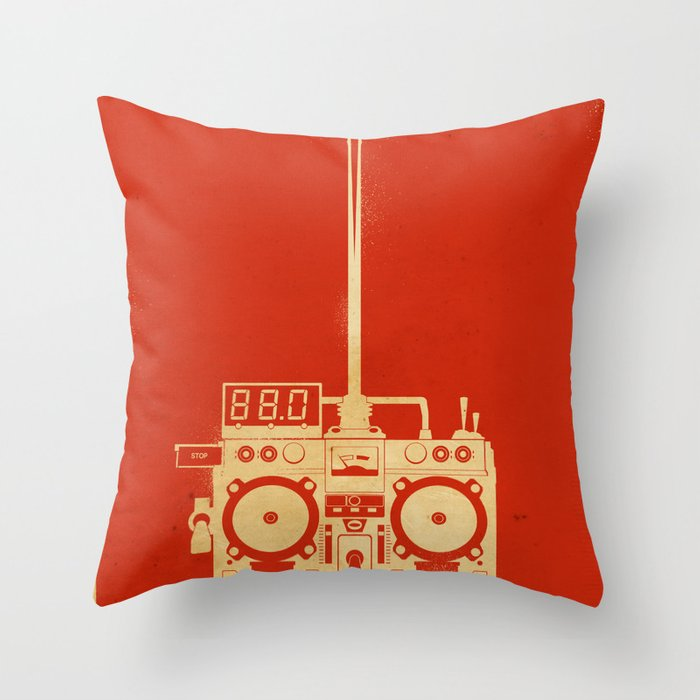 88mph Throw Pillow