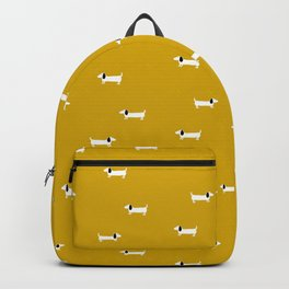 Dog dachshund pattern Backpack