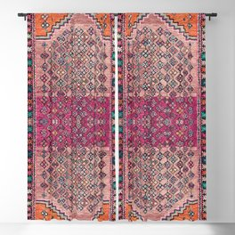 Traditional Moroccan Berber Artwork Design E17 Blackout Curtain