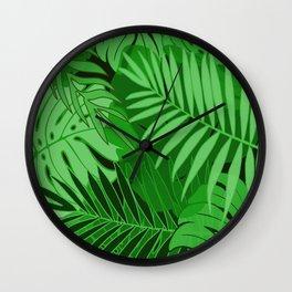 Rain Forest #6 Wall Clock