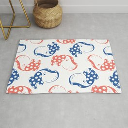 Spotted Dog Pattern Rug