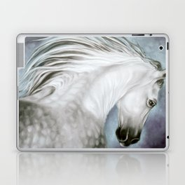 Andalusian Dapple Gray Laptop & iPad Skin