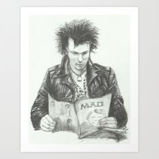 ANALOG zine - Sid Vic Art Print