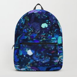 It Was All Electric Blue Backpack