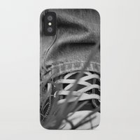 sneakers iPhone & iPod Cases featuring Sneakers by Fine2art