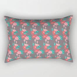 Slipping into fall Rectangular Pillow