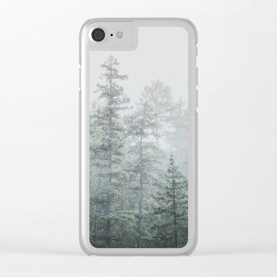 Deep Forest II Clear iPhone Case