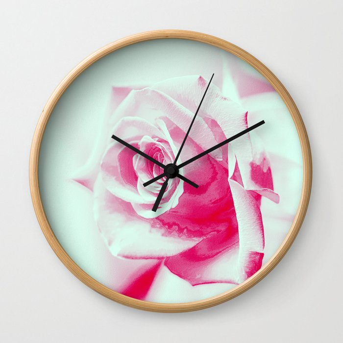 A Rose is a Rose... Wall Clock