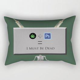 W&Ps Machine Rectangular Pillow