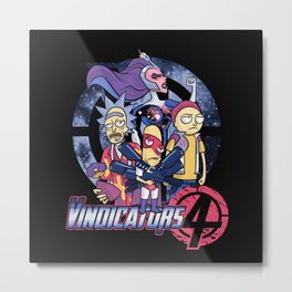 Vindicators 4 Metal Print
