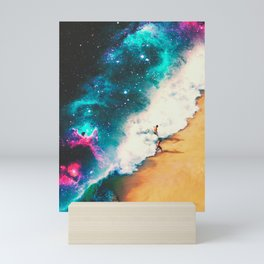 Wrapped In The Wave Mini Art Print