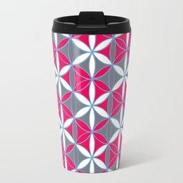 Flower of Life Pattern 16 Travel Mug