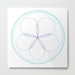 Venus Mandala Metal Print