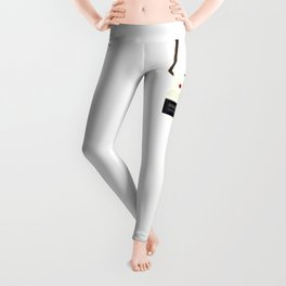 Retro Camera with Strap Leggings