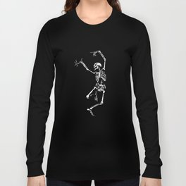 DANCING SKULL Long Sleeve T-shirt