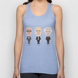The Godfathers of Modern Architecture Unisex Tank Top
