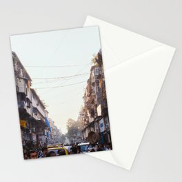 mumbai streets Stationery Cards