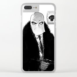 """I'm that bad mother f------ called Stagger Lee"" Clear iPhone Case"