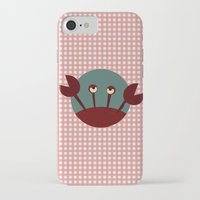crab iPhone & iPod Cases featuring Crab by Mr and Mrs Quirynen