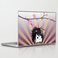 asia Laptop & iPad Skins featuring Zen Cumi by Goat Games
