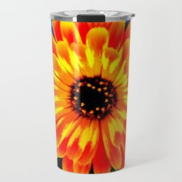 Orange Marigold Travel Mug