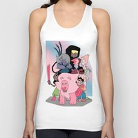 steven universe Tank Tops featuring Steven Universe by Laura Pulido