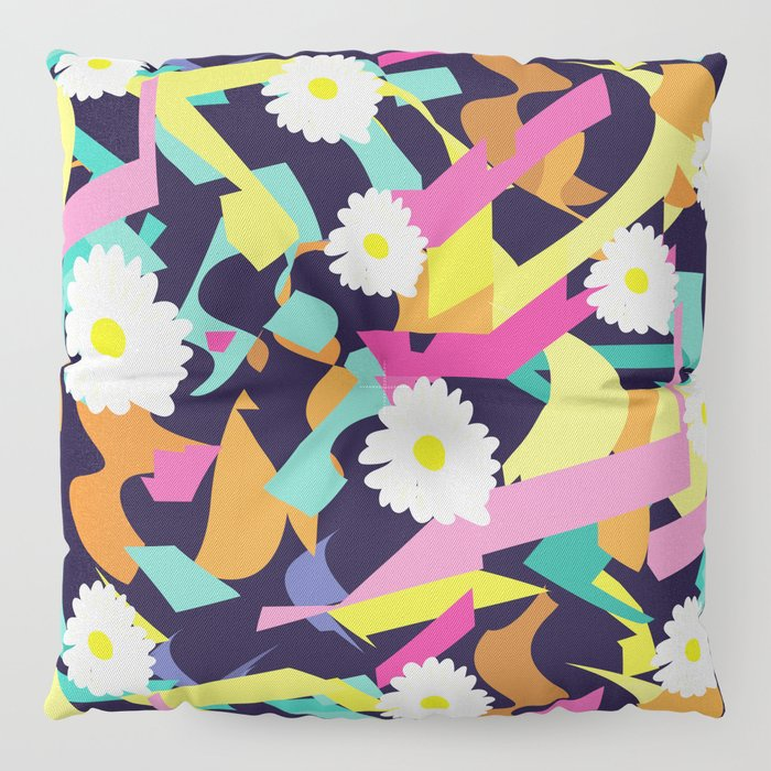 Daisy Expo Floor Pillow