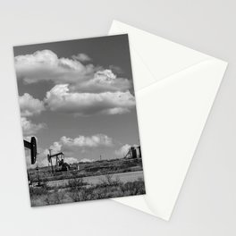 Oil Pumping Unit Stationery Cards