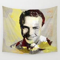 actor Wall Tapestries featuring Marlon by Ganech joe