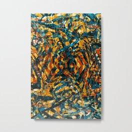 Pattern № 15 Metal Print