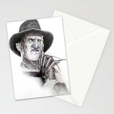 Freddy krueger nightmare on elm street Stationery Cards