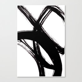 Abstract Wall art, Abstract Print, Black White Abstract Print, Black White Art, Minimalist Print, Ab Canvas Print