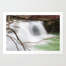 Potters Falls Waterfall Art Print
