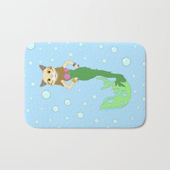 Mer-Cat Bath Mat