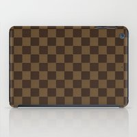 lv iPad Cases featuring LV pattern style by aleha