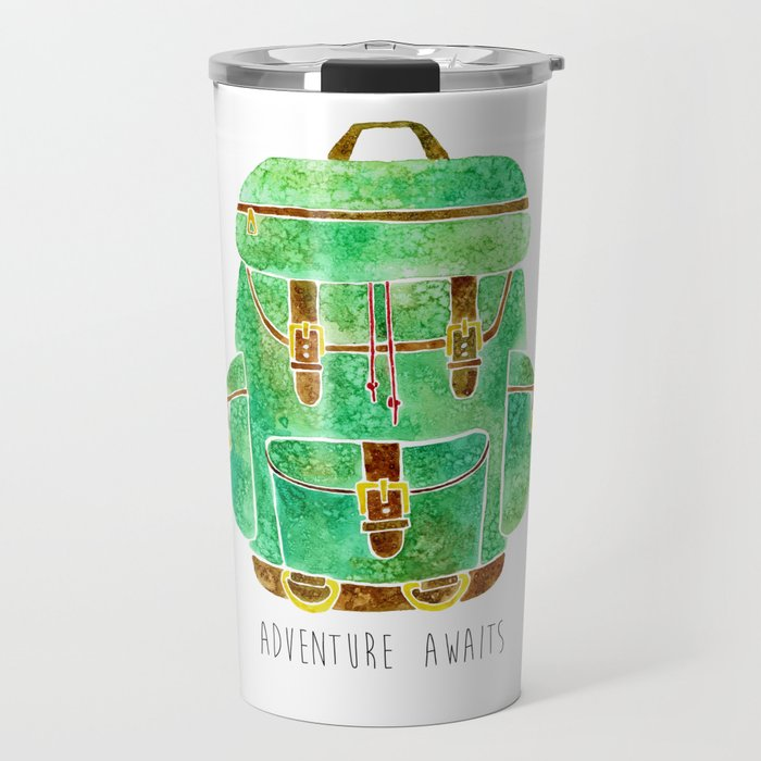 Backpack Adventure Travel Mug