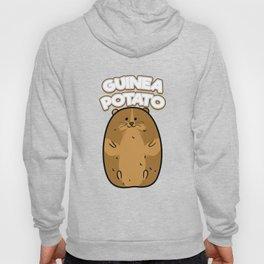 Guinea Pig Potato Funny Cute Fat Potato Pet Lover Hoody