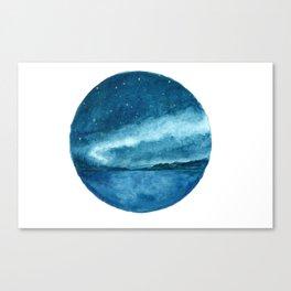 Aurora Has Fallen Canvas Print