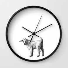 Goat baby G147 Wall Clock