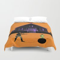 house Duvet Covers featuring HOUSE by MAR AMADOR