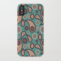 paisley iPhone & iPod Cases featuring Paisley by Lisi Fkz