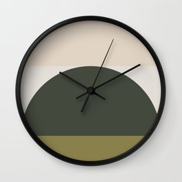 Contemporary Composition 14 Wall Clock