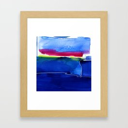 Meditations 33 by Kathy Morton Stanion Framed Art Print