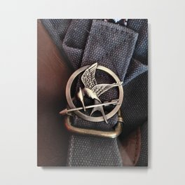 Mockingjay Metal Print